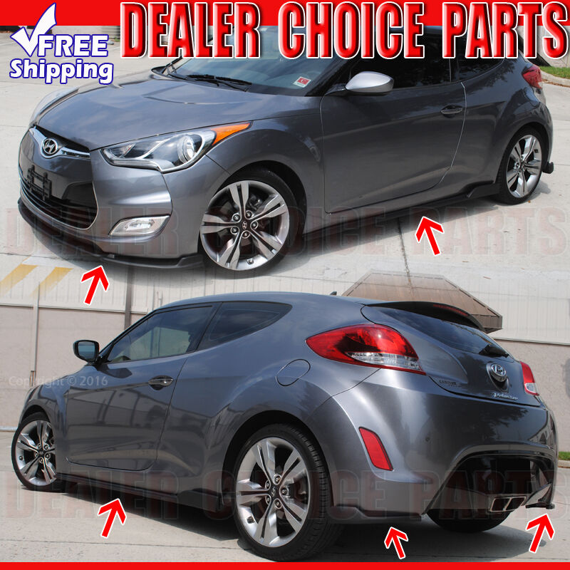 veloster sequence body kit the image. Black Bedroom Furniture Sets. Home Design Ideas