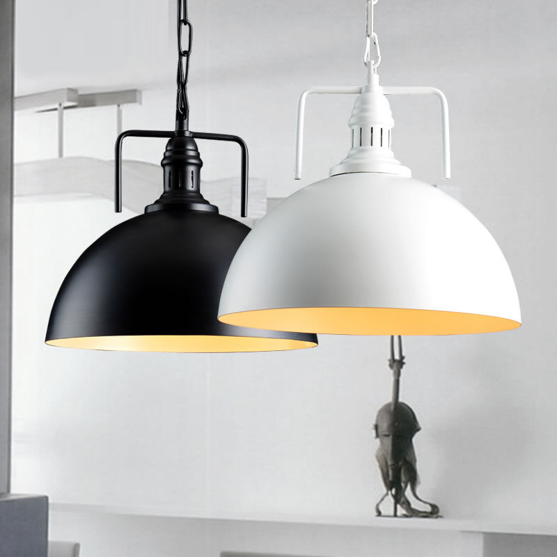 Black/White Chandelier Lighting Modern Ceiling Light