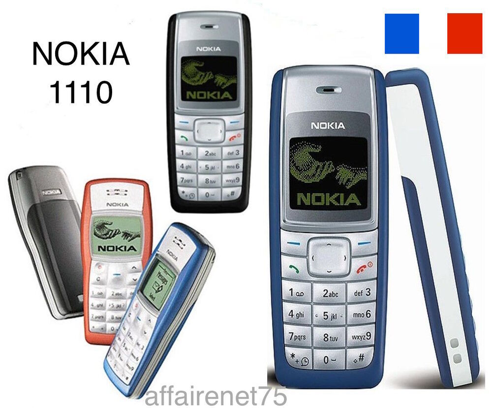 t l phone portable nokia 1110 neuf d bloqu ebay. Black Bedroom Furniture Sets. Home Design Ideas