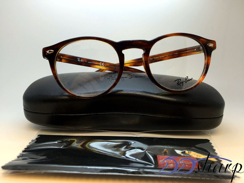cb76fda3fd Ray Ban Eyeglasses-RB 5283 2144 49 Striped Havana