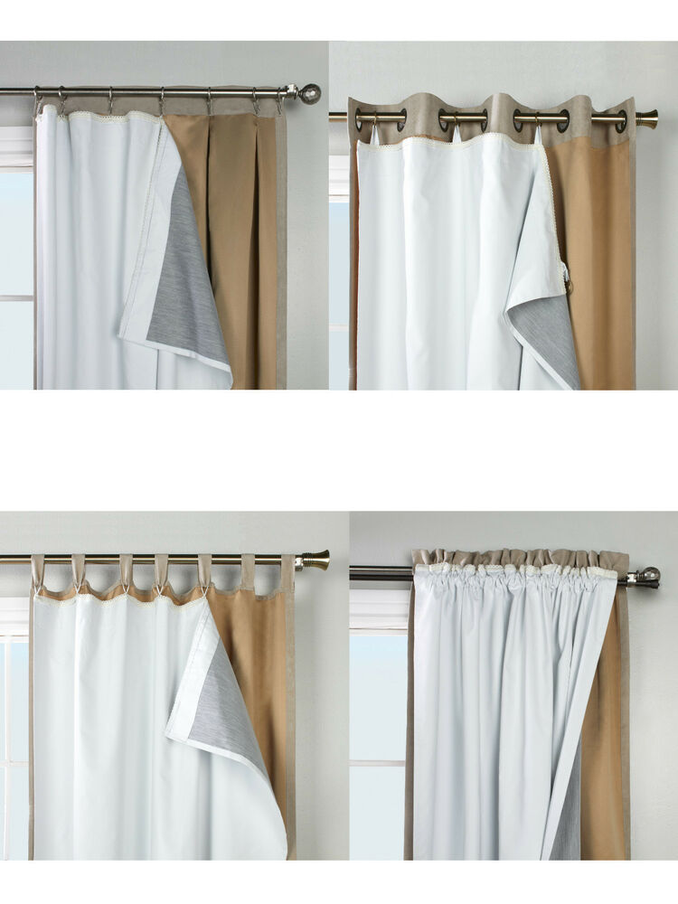 thermalogic ultimate liner blackout insulated curtain. Black Bedroom Furniture Sets. Home Design Ideas