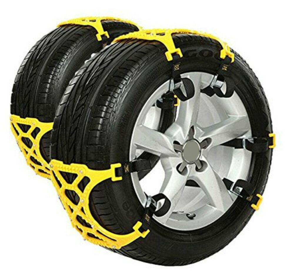 anti snow chains  car suv chain tire emergency thickening anti skid chain ebay