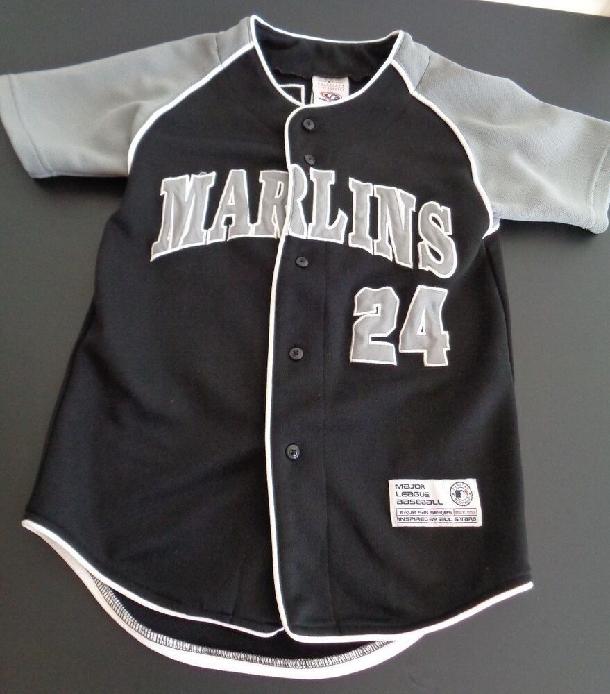 Details about FLORIDA MARLINS Baseball MIGUEL CABRERA Black Jersey TRUE FAN  Youth S Stitched f307a1c06