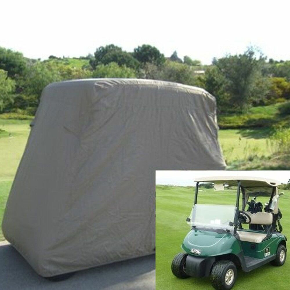 2 Person Passenger Golf Cart Storage Cover Fits EZ GO Club