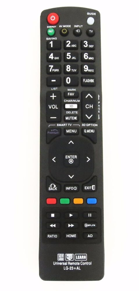 Lg Universal Remote Control For Almost All Lg Lcd Led Hd