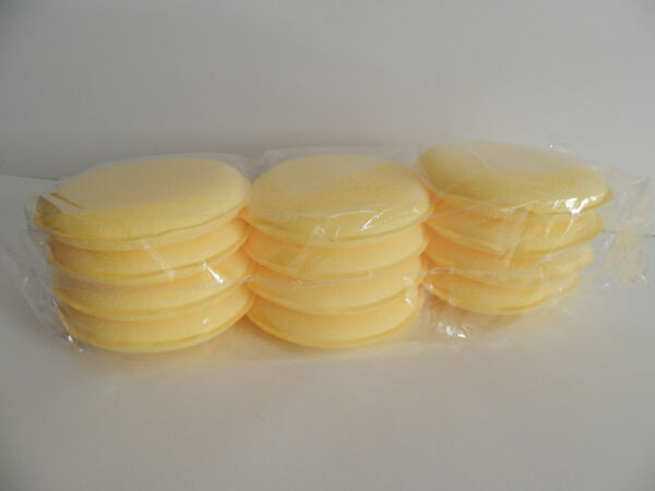 12 CAR WAX Applicator Pads *FASTEST USA SHIPPER*. NOT a USA china STORE FRONT