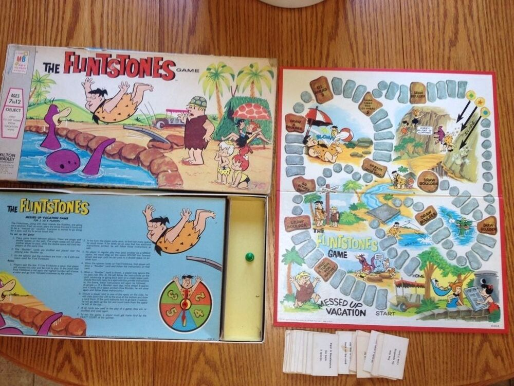 Milton Bradley 4123 - The FLINTSTONES Game | eBay