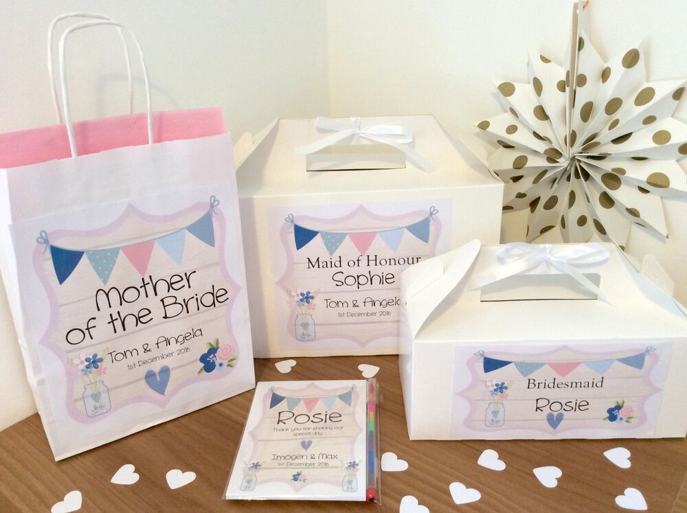 Wedding Gift List Text : ... WEDDING FAVOUR CHILDRENS ACTIVITY GIFT BOX PARTY BAG TEXT eBay