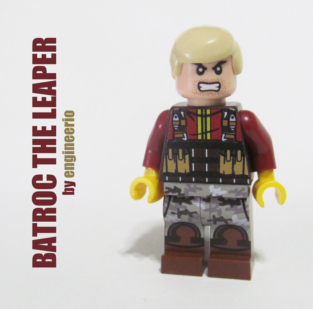 Lego custom batroc the leaper marvel super heroes captain america movie ebay - Lego capitaine america ...
