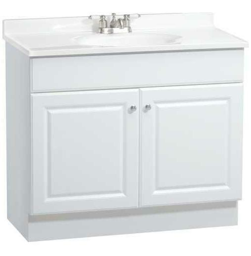 bathroom vanity cabinet doors rsi richmond 36 quot white bathroom vanity cabinet w two 11782