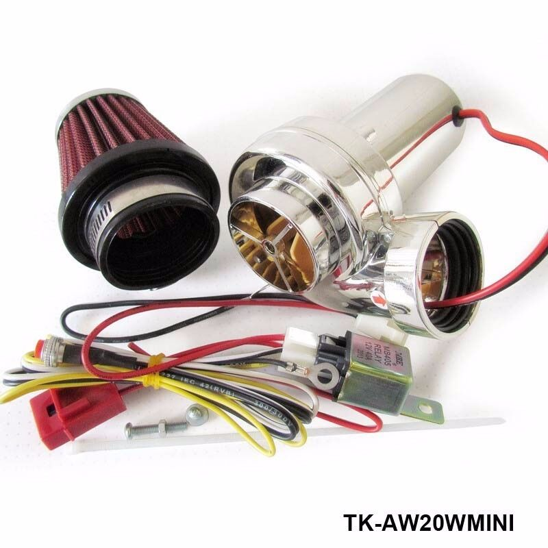 Pd750 Electric Motor Kit: Mini Electric Turbo Supercharger Kit Turbo Kits Air Filter