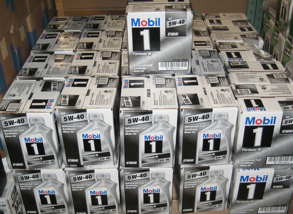 mobil 1 5w40 formula m synthetic oil sixpack of 1 qt. Black Bedroom Furniture Sets. Home Design Ideas