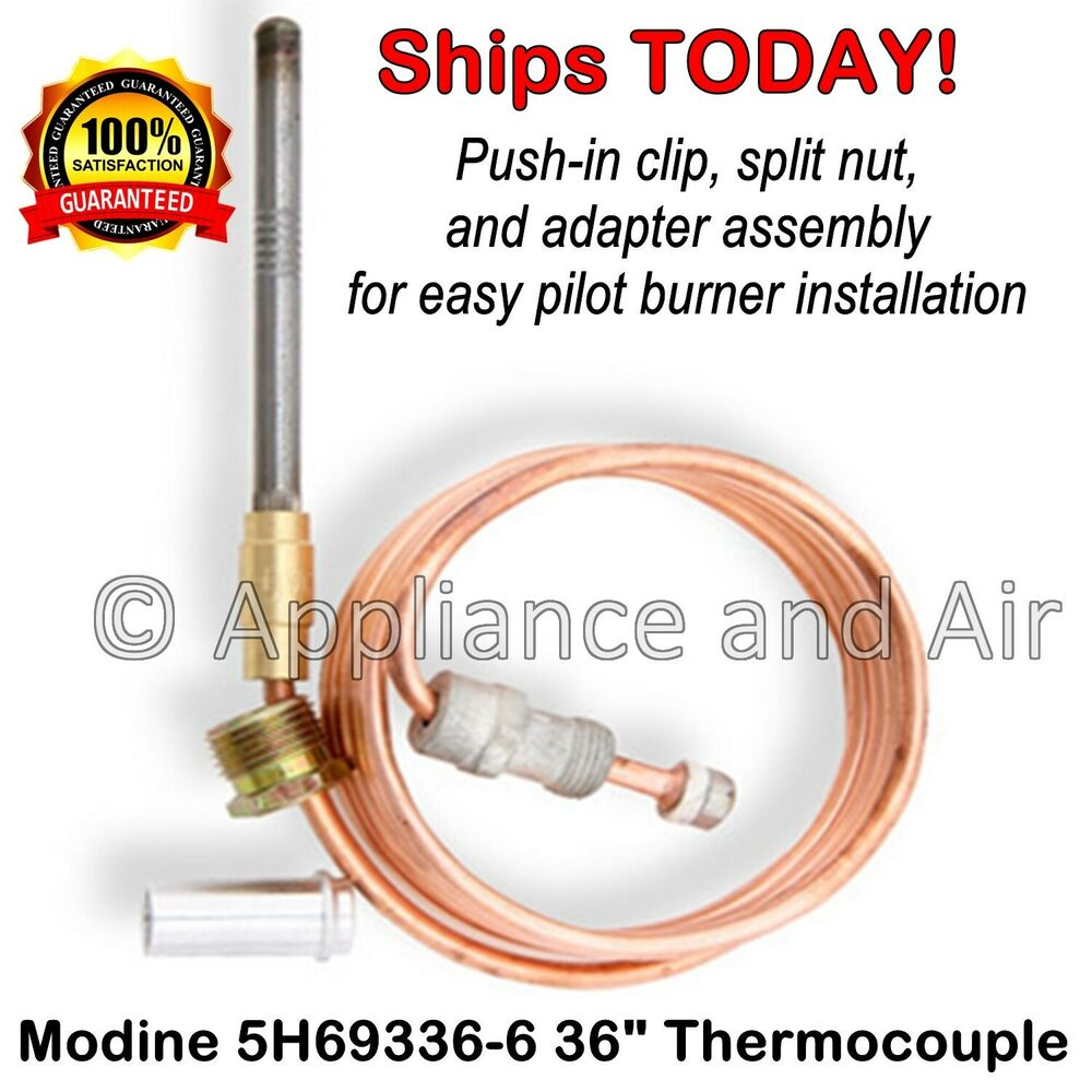 Modine Hot Dawg Heater 5h69336 6 36 Thermocouple Standing Pilot Wiring Diagram Pv Heaters Instr Ebay