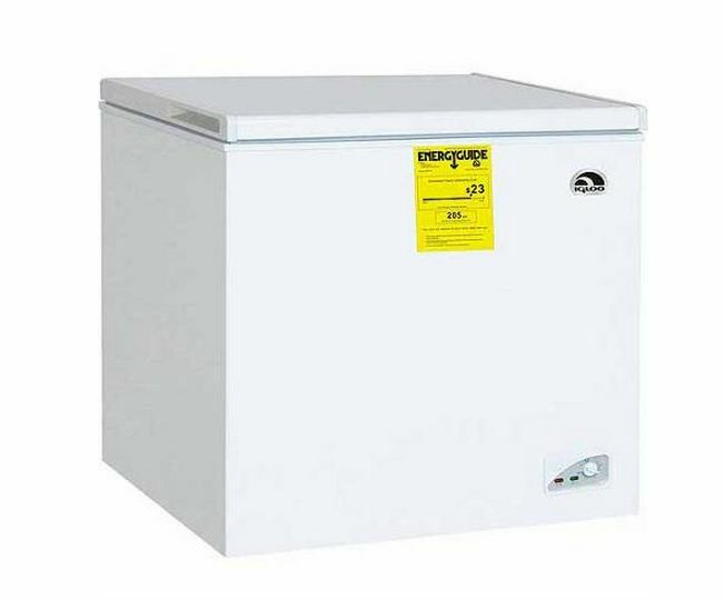 mini deep freezer energy chest freezer 7 1 cu ft igloo compact 29061