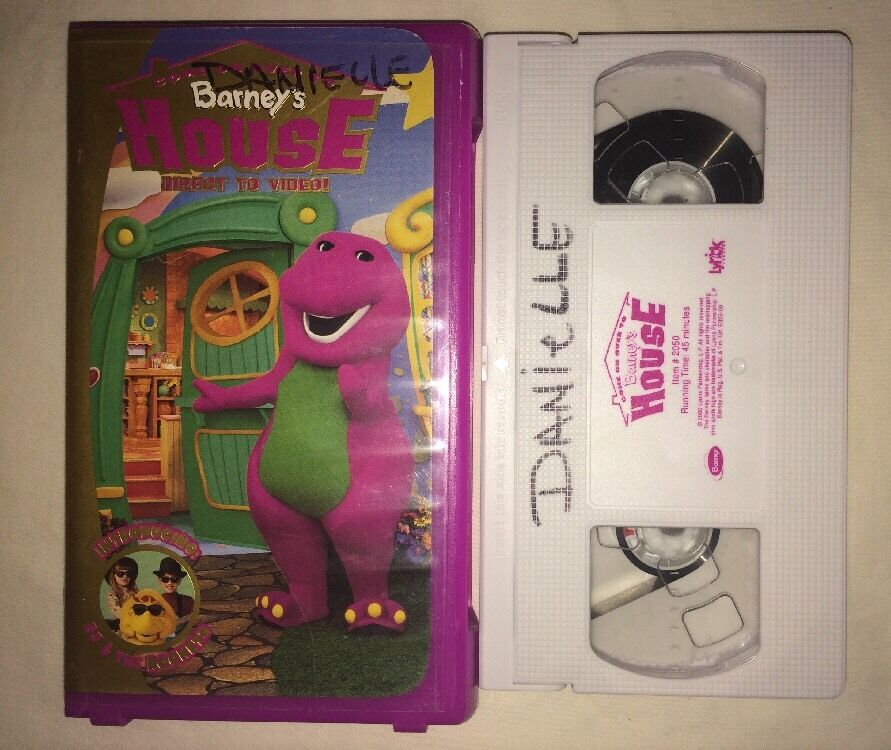 Come On Over To Barneys House (VHS, 2000) RARE