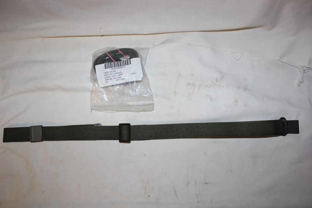 Us Military Issue M1 Garand Two Point Rifle Sling Original