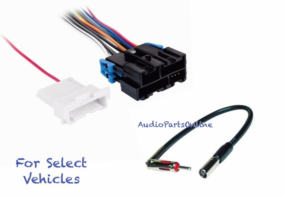 radio wire harness antenna adapter for some 1995 2002 chevrolet silverado tahoe ebay