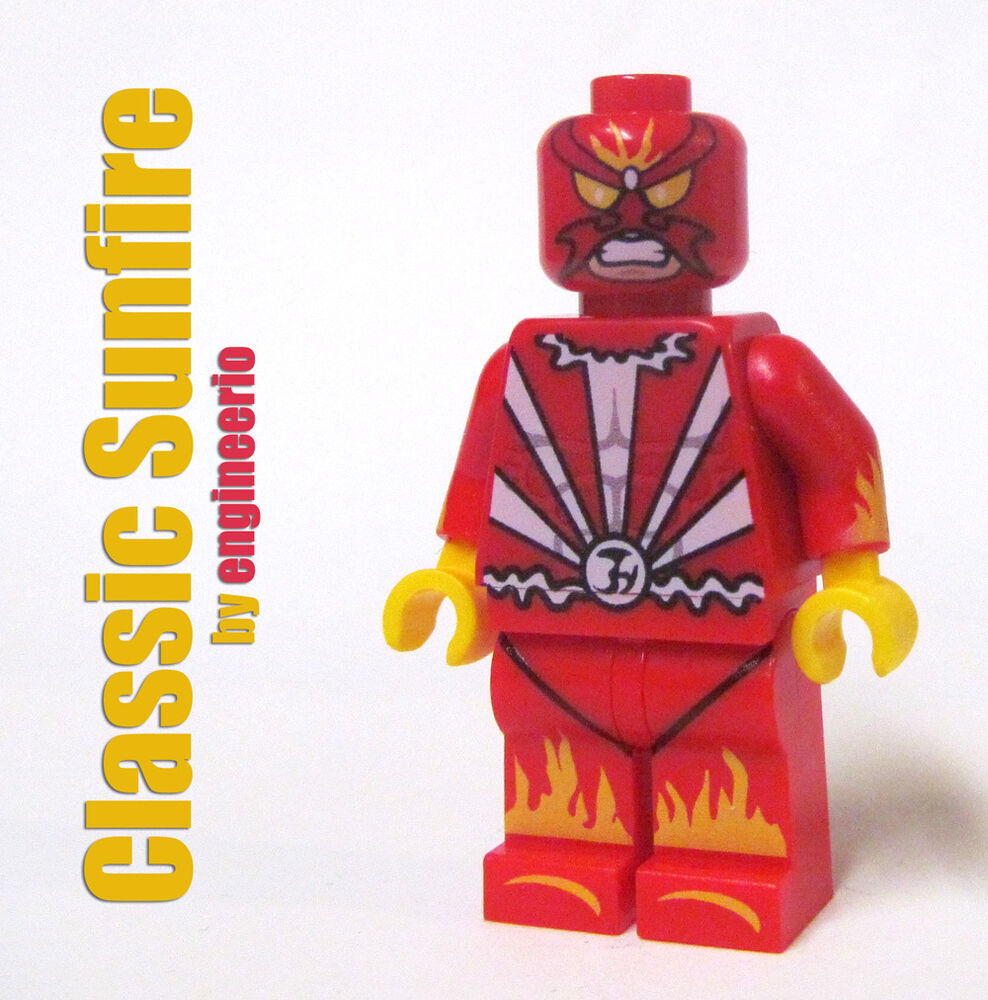 LEGO Custom - Sunfire classic - Marvel Superheroes ...