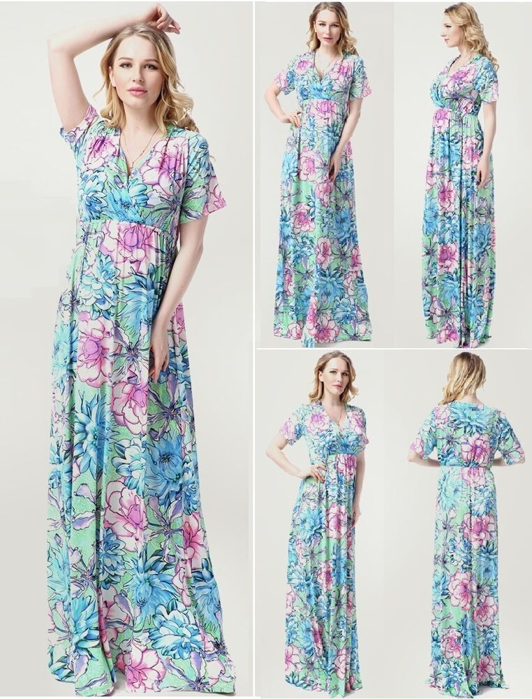 Maternity evening dress baby shower wedding bridal maxi for Maternity wedding dresses under 100
