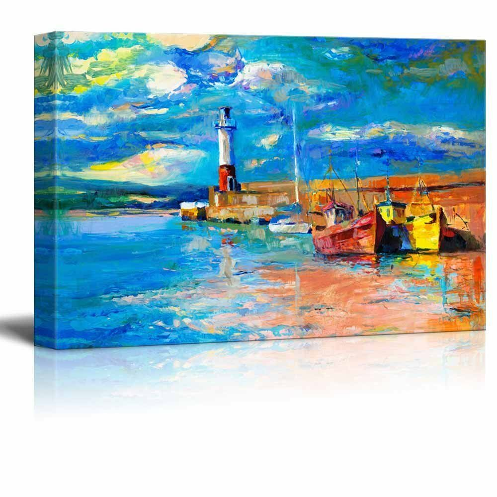 canvas prints wall art original oil painting of