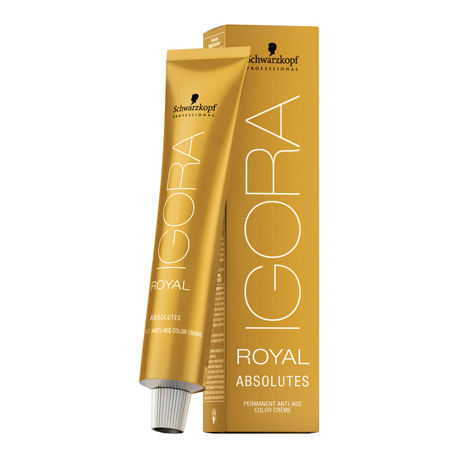 4f2dbe02a7 Details about IGORA ROYAL ABSOLUTES AGE BLEND permanent anti-age color  creme~hair color cream