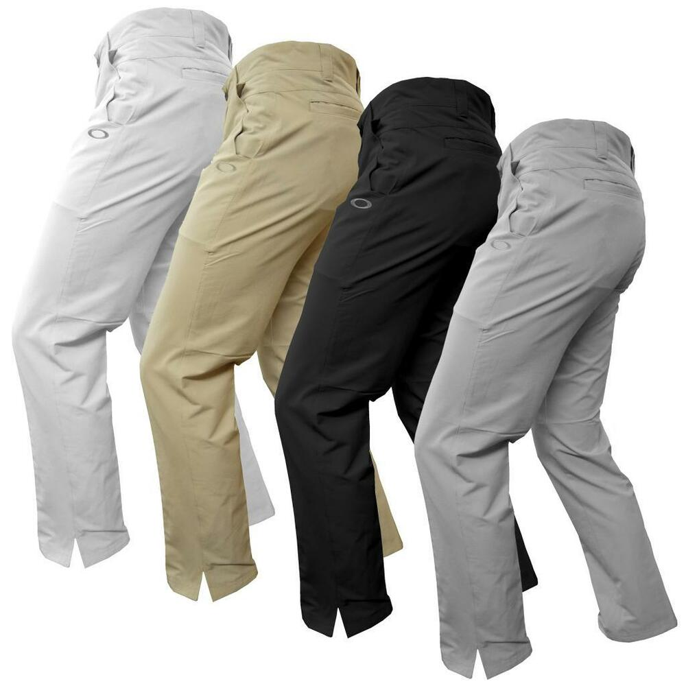 oakley take pants 2 5 mens performance flat front golf trousers ebay. Black Bedroom Furniture Sets. Home Design Ideas