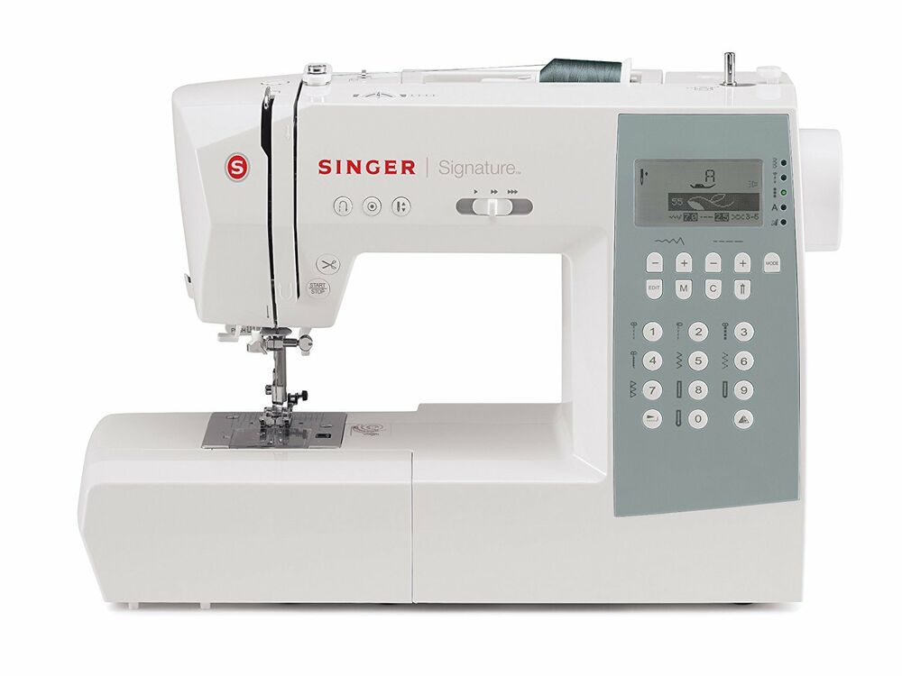 singer sewing machine model 9340 computerized with 340. Black Bedroom Furniture Sets. Home Design Ideas