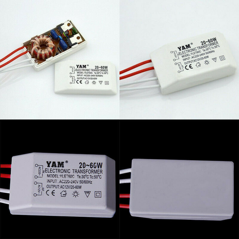 220v to 12v 20 60w lampade alogene led driver for Lampade led 220v