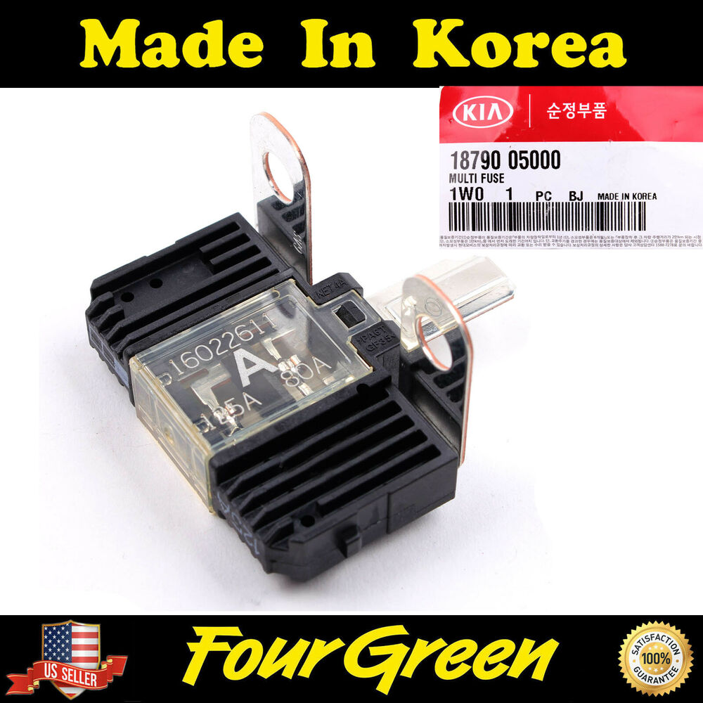 genuine multi fuse for kia 2012 rio5 12 16 rio 1 6l oem. Black Bedroom Furniture Sets. Home Design Ideas