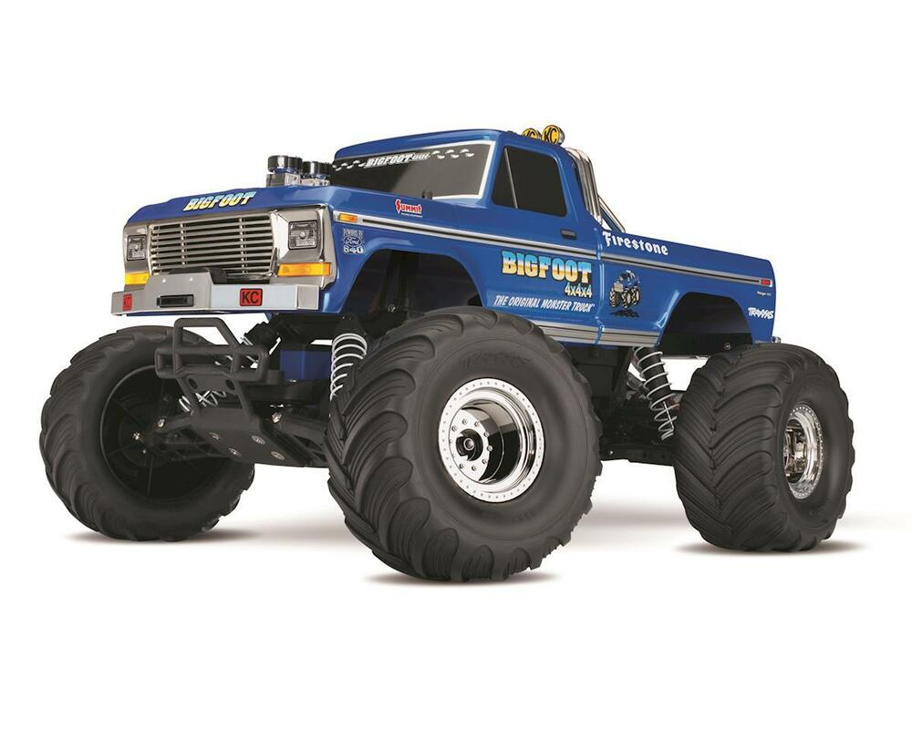 tra36034 1 traxxas bigfoot no 1 original monster rtr 1 10 2wd monster truck ebay. Black Bedroom Furniture Sets. Home Design Ideas