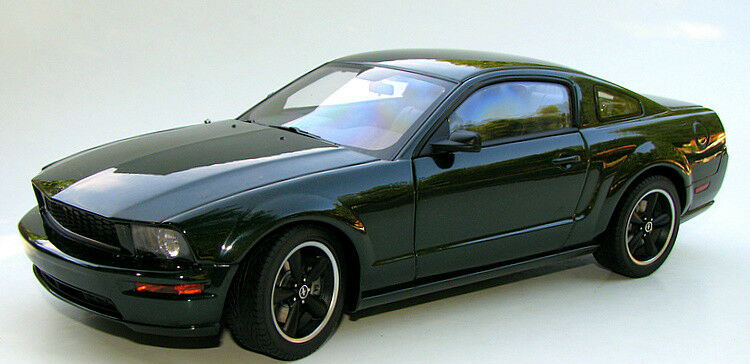 2008 Ford Mustang Gt Bullitt Highland Green 1 18 Scale