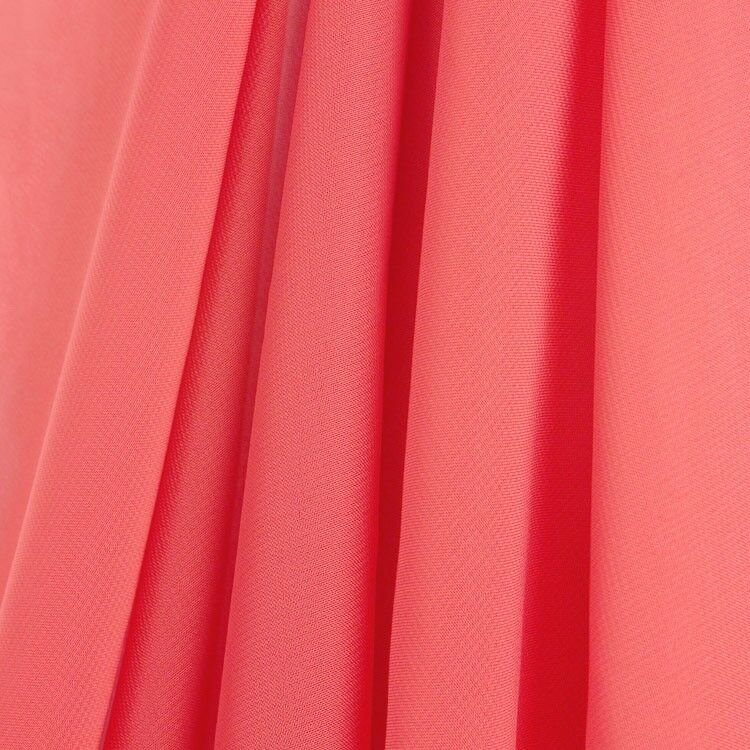 Coral Chiffon Drapes Panels For Wedding Events Amp Pipe And