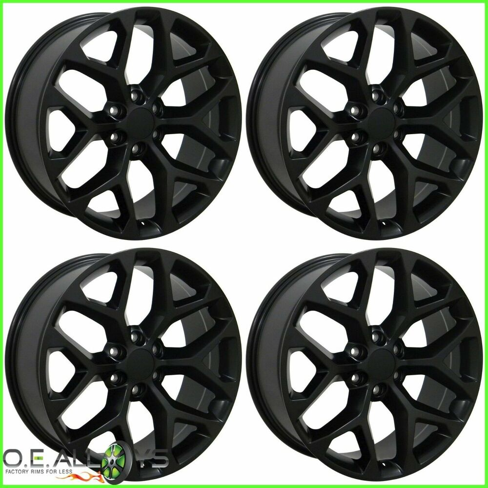 All Chevy black chevy rims : Stock Chevy Tahoe Wheels | eBay