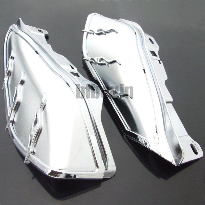 For Harley Engine Mid Frame Seat Air Heat Deflector Trims