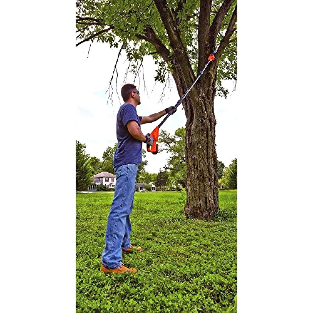 Pole Saw Pruner >> Long Pole Saw Cordless Electric Tree Cutter Limb Branch Pruner Trimmer Extension 715007614104 | eBay