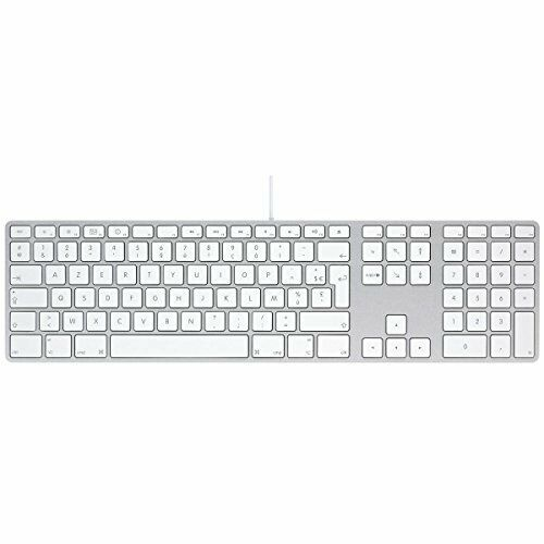 genuine apple mb110mg b usb keyboard with numeric keypad with hungarian layout ebay. Black Bedroom Furniture Sets. Home Design Ideas