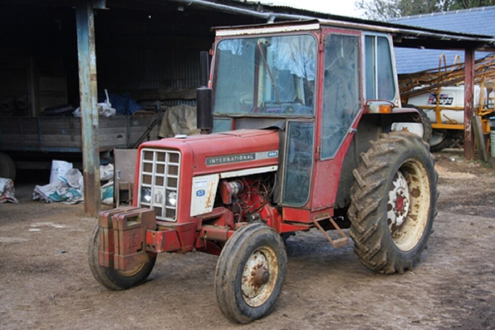 Ih 574 Tractor : International harvester workshop manual