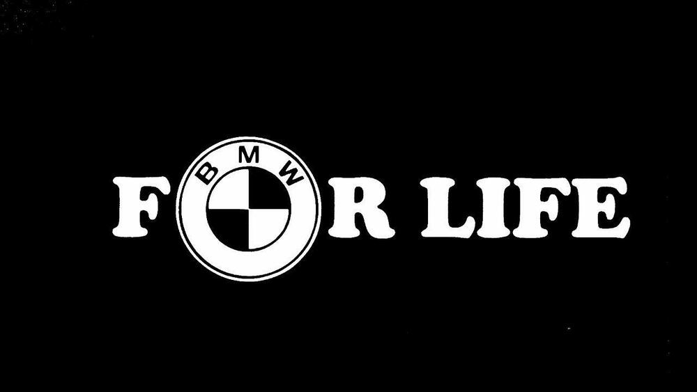 Bmw For Life E46 E36 325i 318i E30 E90 M3 M5 Car Truck