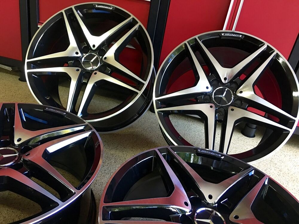 Mercedes 19 in e63 black edt wheels rims fits exclusive for Mercedes benz wheels rims