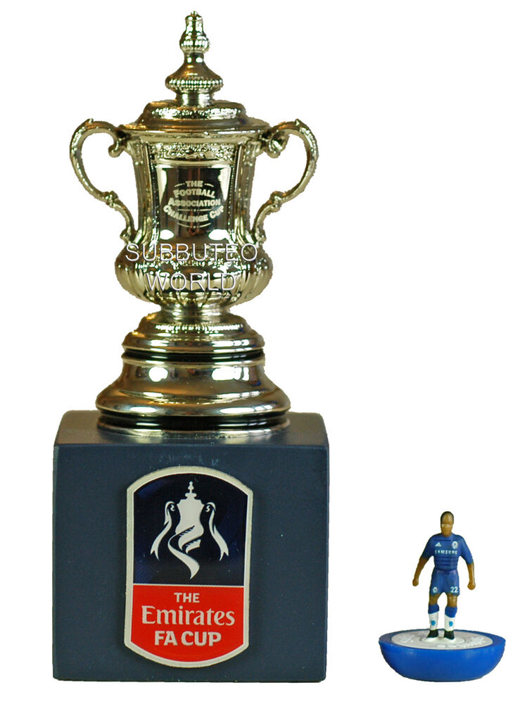 The fa cup display box official licensed product for Championship league table 99 00