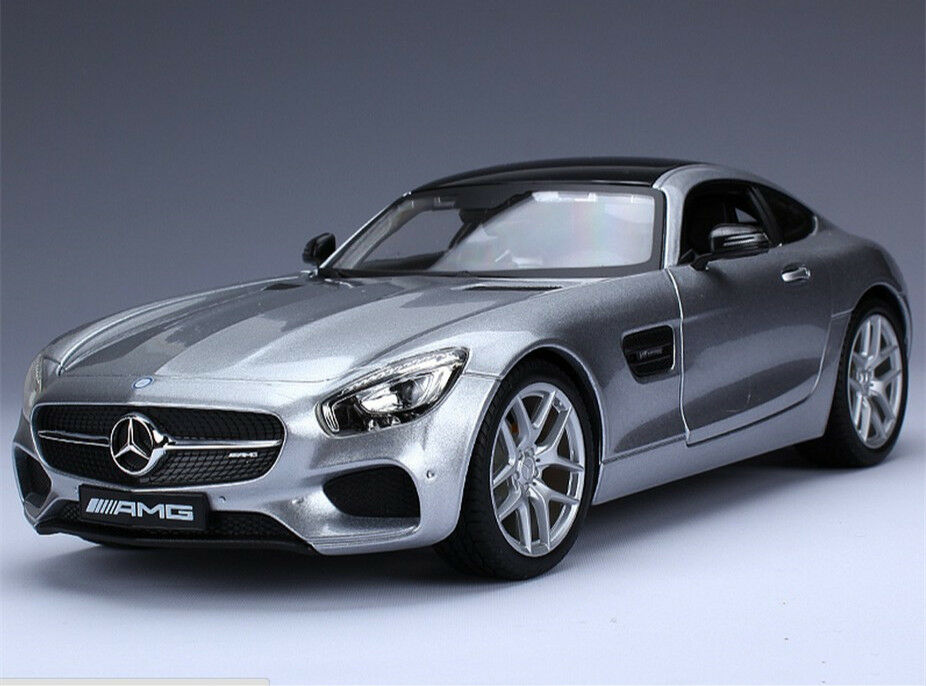 Maisto 1 18 mercedes benz amg gt diecast metal model car for Diecast mercedes benz