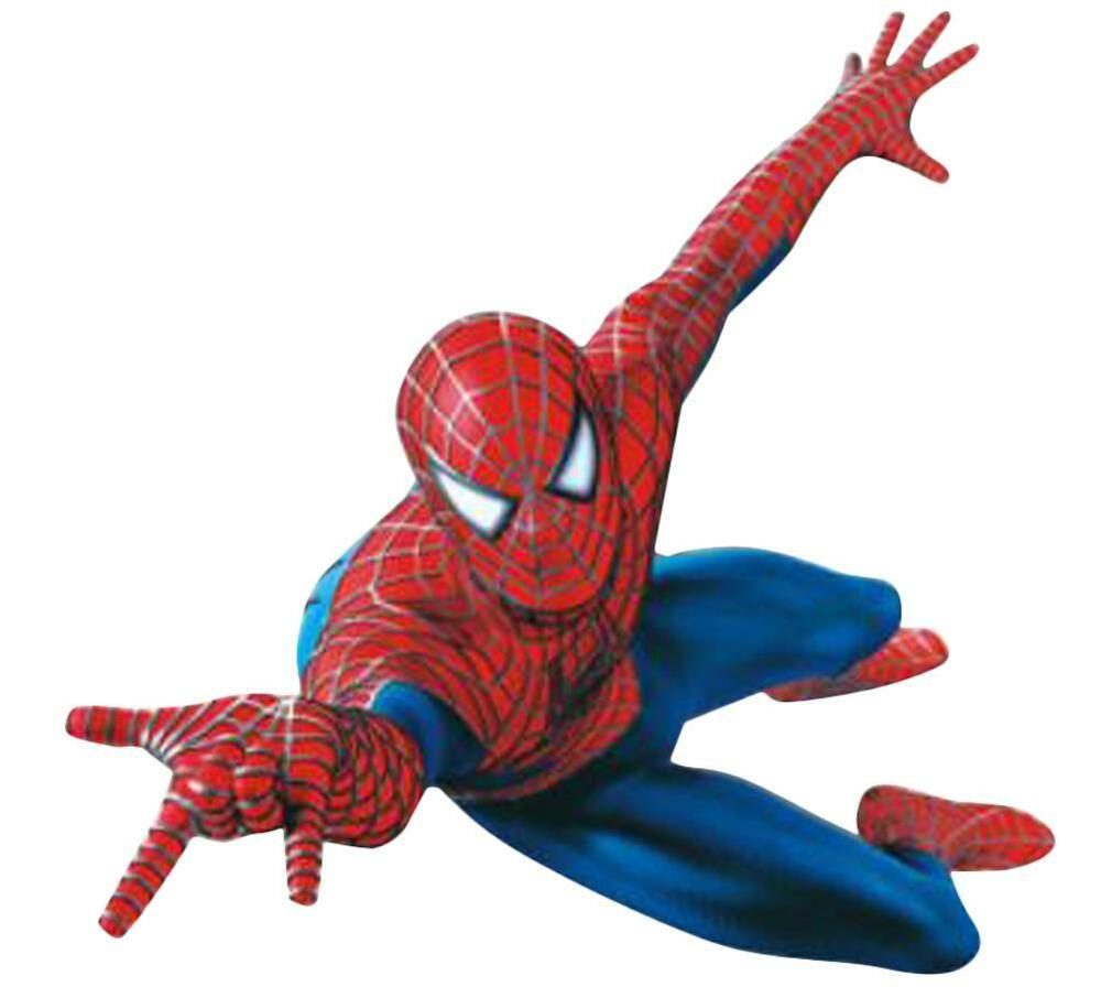 Wallpaper Decals: 3D Spider Man Wall Stickers Removable Art Decals Mural