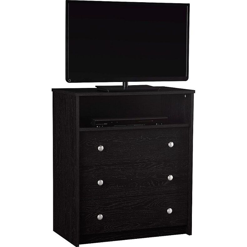 Bedroom Storage Dresser Chest 3 Drawer Modern Wood