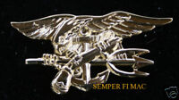 XL US NAVY SPECIAL WARFARE BADGE SEAL TEAM UDT HAT PIN SPECIAL OPS OBL UDT WOW