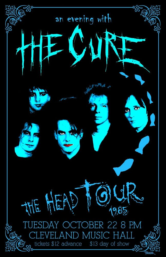 Cure  Tour Poster