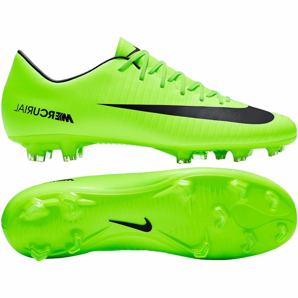 Nike Lime Green And Blue Shoes
