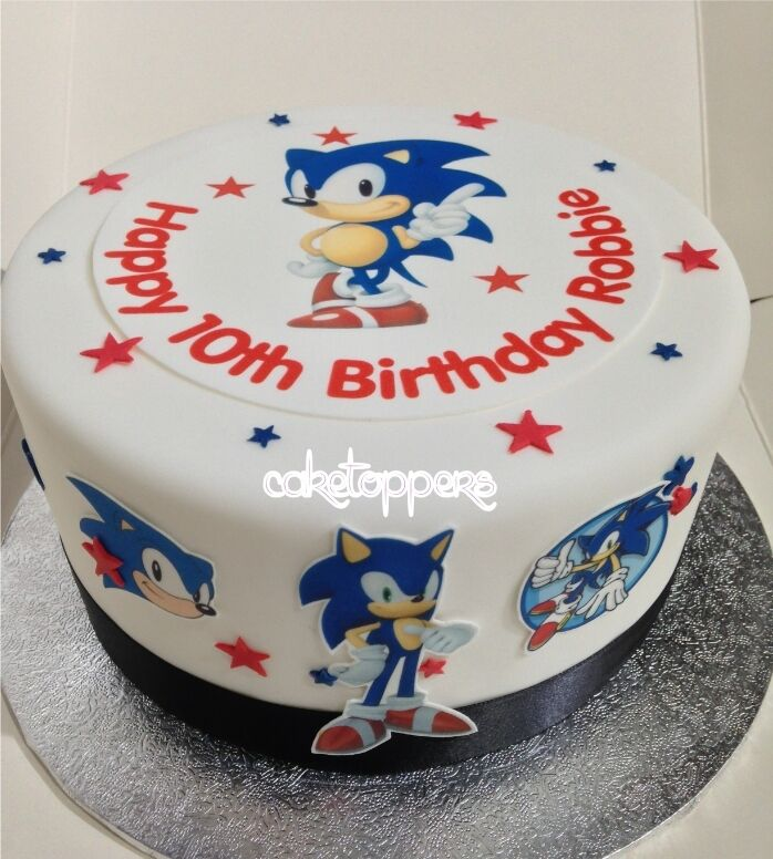 Sonic Cake Toppers Uk