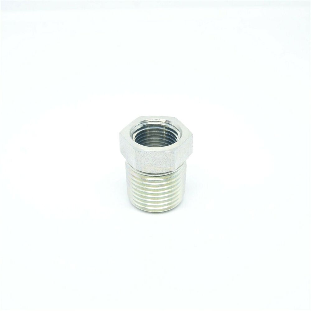 Steel reducer bushing adapter npt male