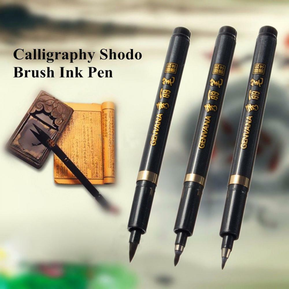Drawing chinese japanese brush calligraphy writing tool Drawing with calligraphy pens