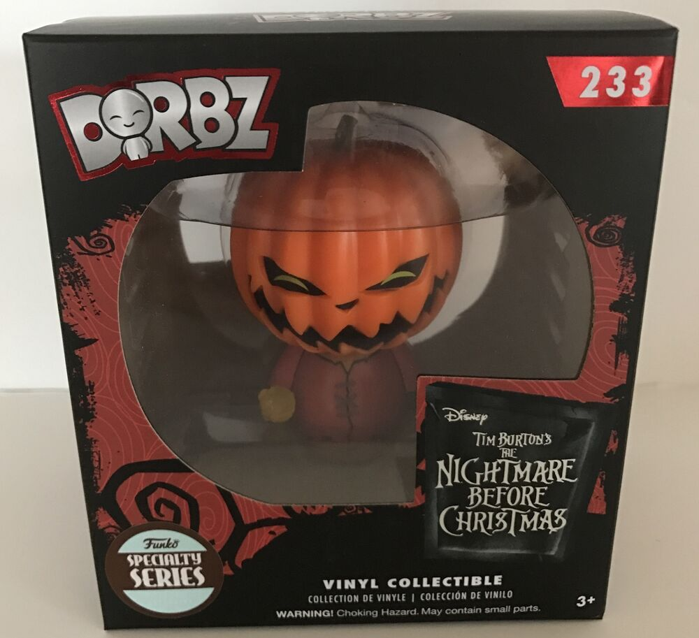 Funko Dorbz Disney Nightmare Before Christmas Pumpkin King Jack ...